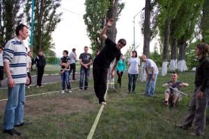 Новини від наших партнерів. Молодежная кампания на Луганщине «Я живу по-новому!». здоровий спосіб життя, молодь